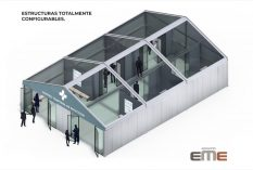 Carpa 10x15m panel + cristal1