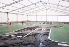 Carpa 20x30m Karting Museo Alonso